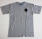 T-shirt unisex grå