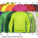 Clique Basic Sweatshirt Roundneck – Nyhet