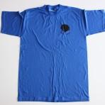 T-shirt unisex blå