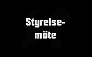Extra styrelsemöte - RASK - Rysk Svart Terrierklubben